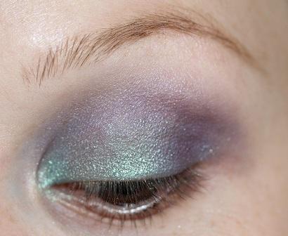 бирюзовый макияж