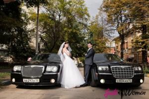 свадебная фотосессия машины