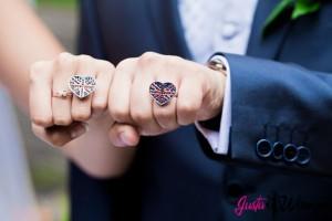 кольца на символическую церемонию