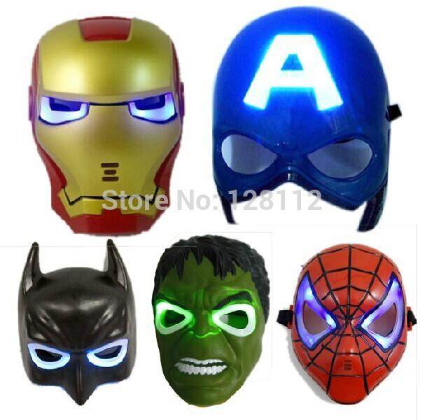 игрушки маски супергероев