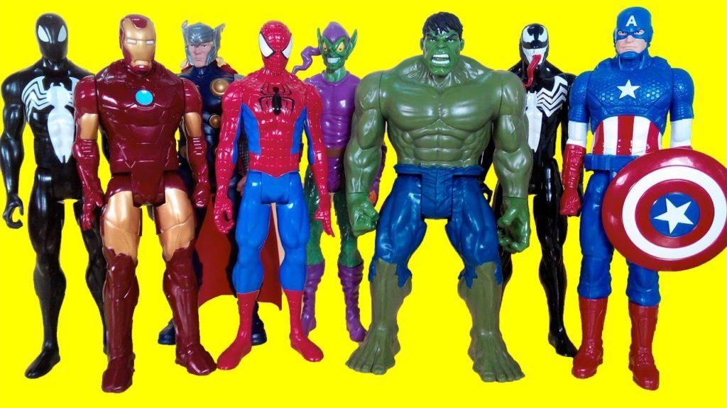 игрушки супергерои марвел